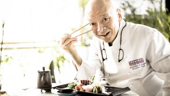 Aunque nació en Japón, Toshiro Konishi siempre resaltó su amor por el Perú. Lo tradujo en su cocina, con la que revaloró gran variedad de nuestros insumos (Foto: El Comercio)