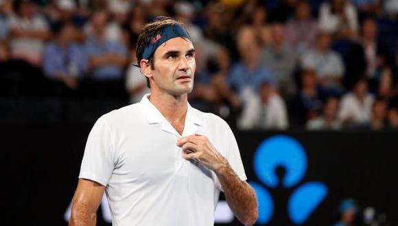 Roger Federer avanzó a la cuarta ronda del Australian Open. (Foto: AFP)
