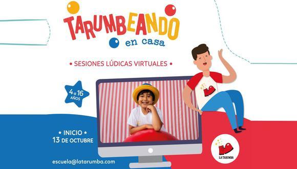 La Tarumba estrena una nueva edición de sus talleres virtuales para niños y adolescentes. (Foto: La Tarumba/3Puntos)