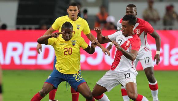 Perú vs. Ecuador: se enfrentan el 8 de junio por las Eliminatorias Qatar 2022 | Foto: EFE