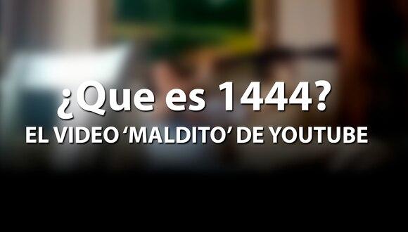 El extraño video de 1444 se ha transformado en viral en las últimas horas en YouTube y todos están tratando de buscarlo antes que lo eliminen de dicha página web. | Yt