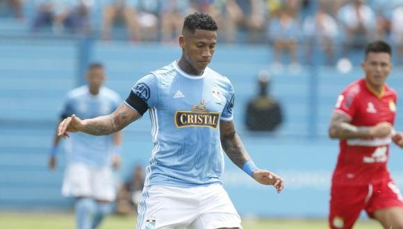 Ray Sandoval llegó a Sporting Cristal a inicio de temporada tras su paso por México. (Foto: GEC)