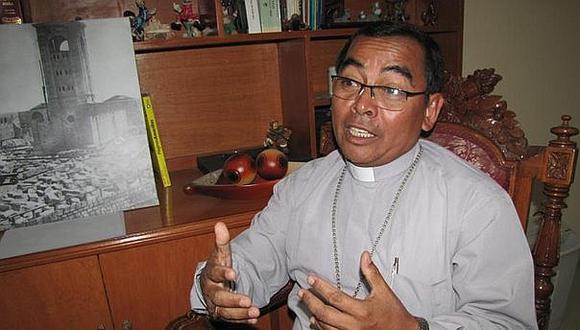 Obispo de Diócesis de Tacna, monseñor Marco Cortez, anuncia que misas por Semana Santa serán virtuales.