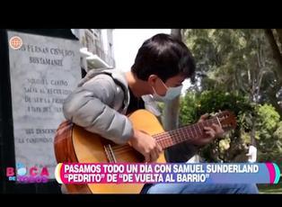 """DVAB: Samuel Sunderland """"Pedrito"""" sorprende con una nueva faceta artística"""