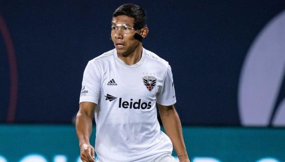 Edison Flores no fue permitido de unirse a la selección peruana, debido a decisión de DC United. (Foto: DC United)