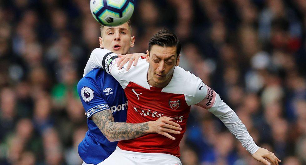 Arsenal vs. Everton: mejores imágenes del partido. (Foto: AFP)