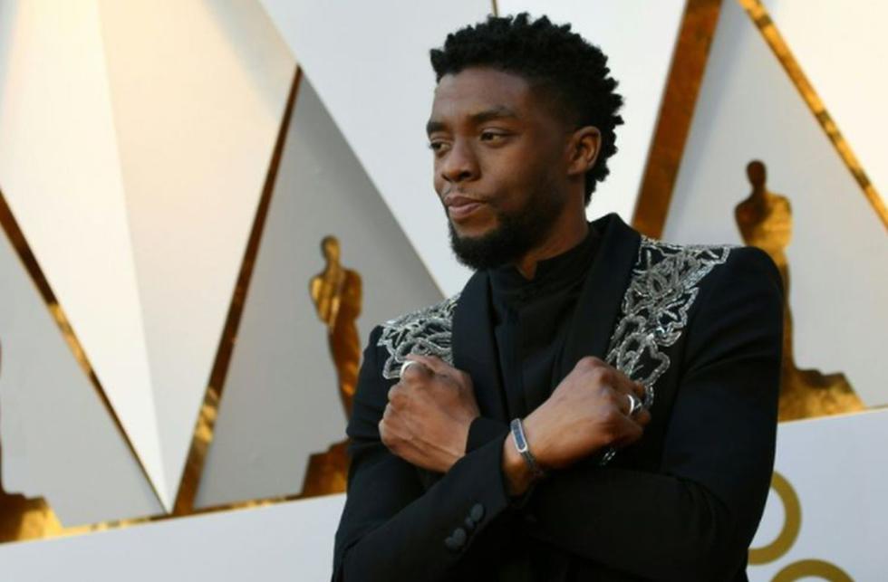 Los fans y colegas de Chadwick Boseman lamentaron su deceso en las redes sociales | Foto: Valerie Macon / AFP