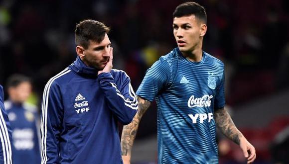 Leandro Paredes expuso su deseo de que Lionel Messi llegue al PSG. (Foto: AFP)