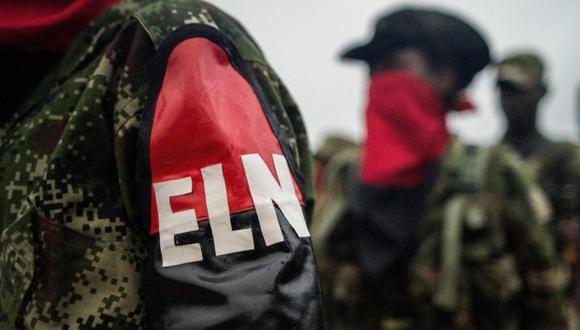 Los cinco miembros del Comando Central del ELN son acusados de secuestro simple y homicidio agravado. (Foto: AFP)
