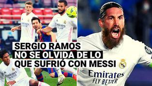 """Sergio Ramos: """"Sin Messi en Barcelona, Real Madrid habría ganado más títulos"""""""