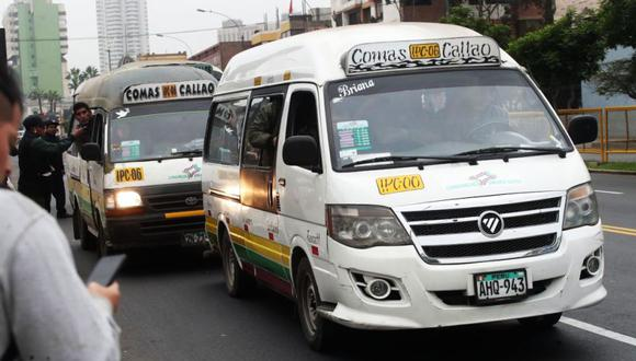 Todas las empresas de transporte de Lima y Callao tienen permiso para operar por un año más. (Foto: Dante Piaggio / El Comercio)