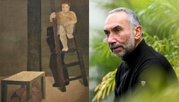 """Obra de 1987, parte de la primera exposición de Bruno Zeppilli. 33 años después de aquella muestra, cuando tenía justamente esa edad, se inaugura """"Ensayo de Retrospectiva (Pinturas 1987-2020) en el Icpna."""