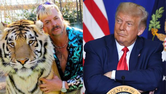 "Joe Exotic de ""Tiger King"" llama ""héroe"" a Donald Trump y le pide un indulto presidencial. (Foto: Netflix/AFP/Mandel Ngan)"