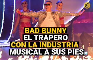 Bad Bunny:  el trapero que tiene la industria musical a sus pies.