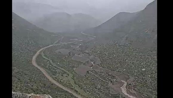 Las posibles zonas afectadas serían Pinchollo, Pujro, Ayon, Cupiarniyoc, Saquirca, Sangalle. (Foto: Ingemmet)