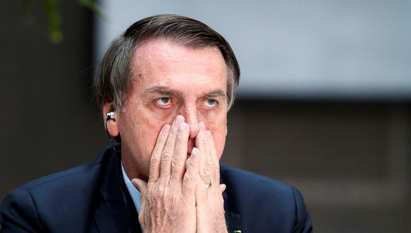 Jair Bolsonaro y el tuit sobre Noruega que generó burlas en la red. (Reuters).