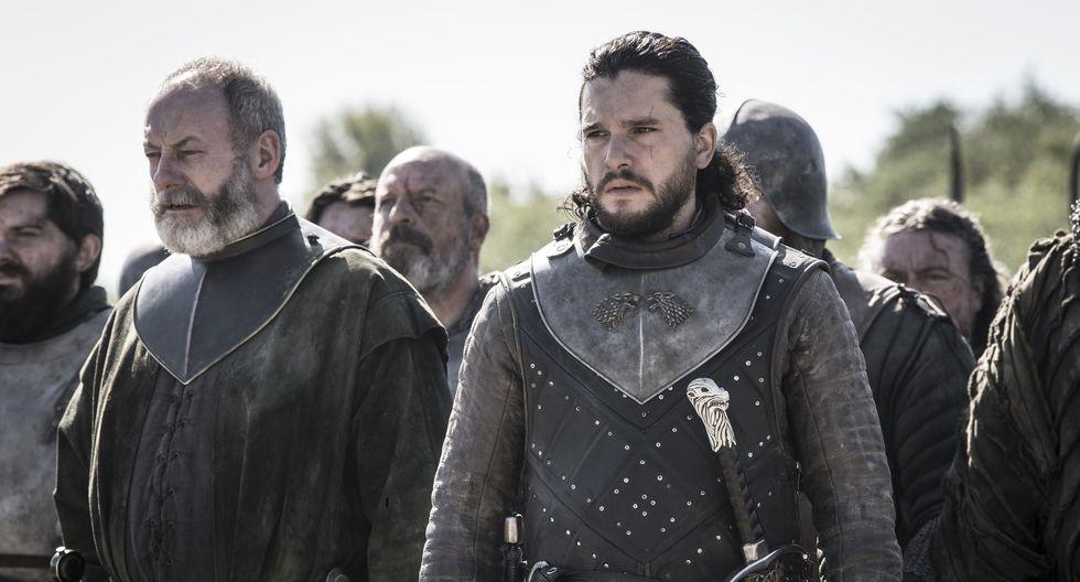 """""""Game of Thrones"""". Imágenes del quinto episodio de la última temporada. Foto: HBO."""