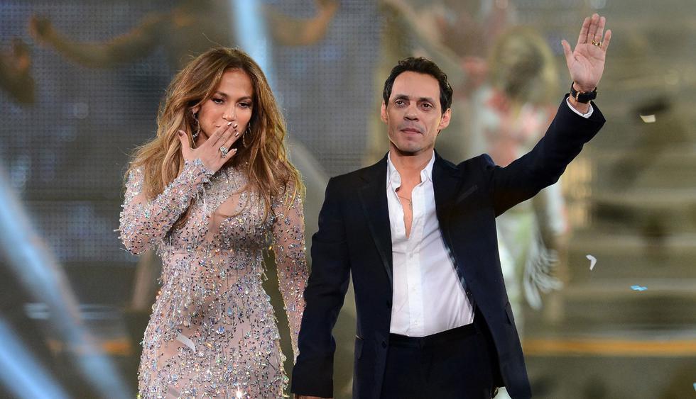 Jennifer Lopez nunca olvidará a Marc Anthony y le agradece por haber sido una parte importante de su vida. (Fotos: AFP)