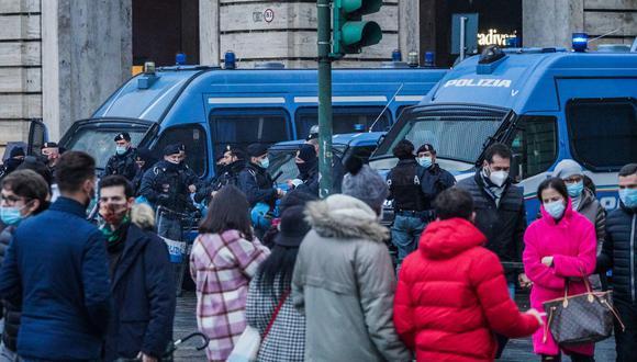 Coronavirus en Italia | Últimas noticias | Último minuto: reporte de infectados y muertos hoy, domingo 20 de diciembre del 2020 | Covid-19 | EFE/EPA/TINO ROMANO