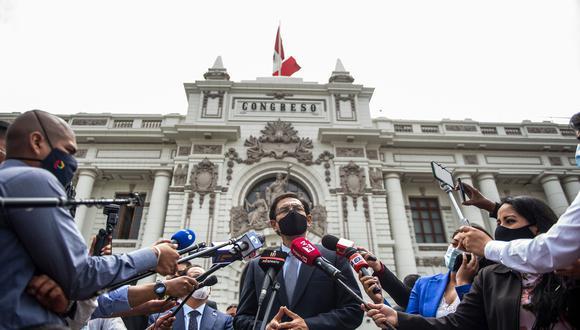 La Comisión Permanente revisará este lunes el informe de calificación de las denuncias presentadas contra el expresidente Martín Vizcarra. (Foto: Archivo de GEC)