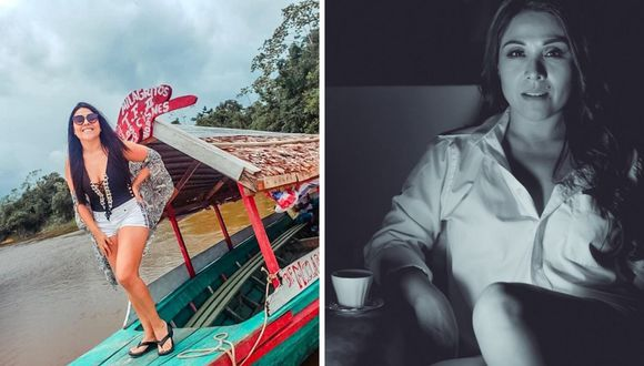 Tula Rodríguez reveló que su hermana padeció el coronavirus en Iquitos. (@tulaperu).