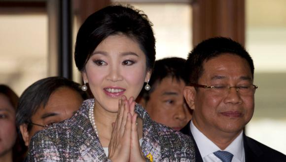 Tailandia: ex jefa de gobierno podría ir 10 años a la cárcel