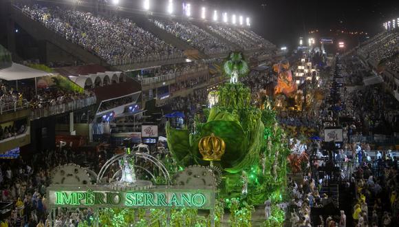 Dos muertos y varios heridos en distintos incidentes durante carnaval de Río. Foto: Archivo de AFP