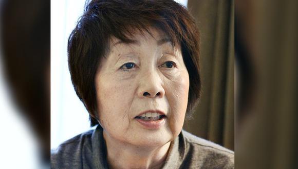 """Esta foto de mayo de 2014 muestra a Chisako Kakehi, """"la viuda negra de Kioto"""". (Kyodo News/AP)."""