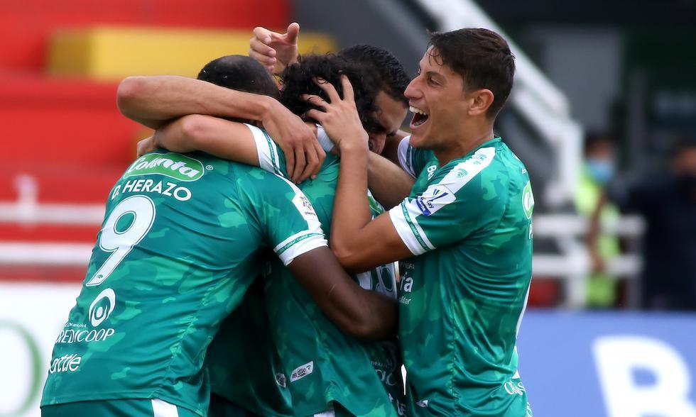 Atlético Nacional cayó 0-1 ante La Equidad por la Liga Betplay | Foto: @Dimayor