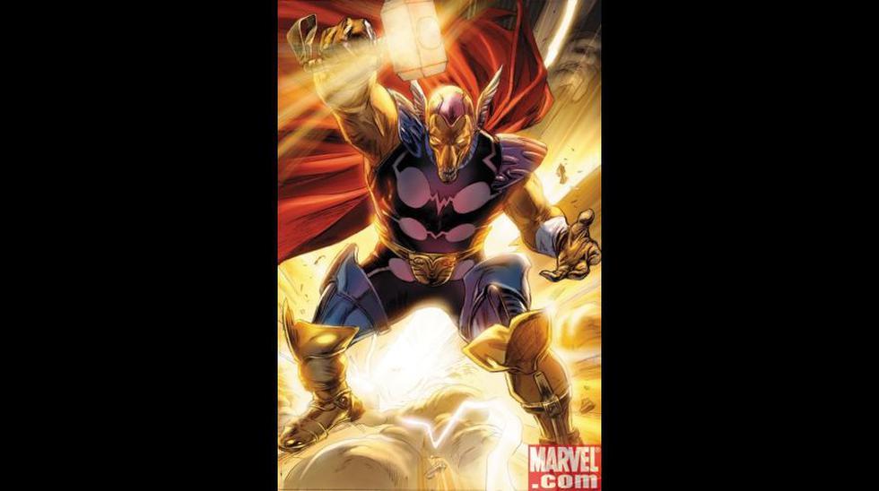 Marvel: estos personajes levantaron el martillo de Thor - 3