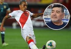 Christian Cueva y la vez que se comunicó con Maradona