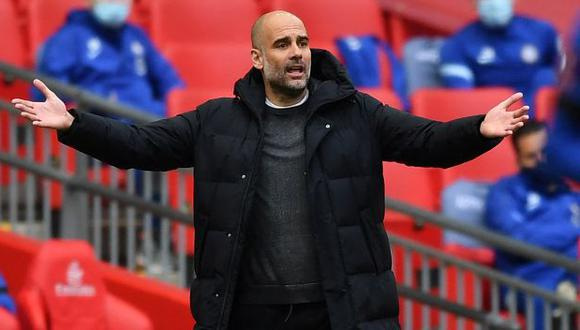 Pep Guardiola disputa su primera semifinal de Champions League con Manchester City. (Foto: AFP)