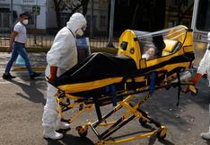 México registra 783 muertes y 7.246 casos de coronavirus en un día