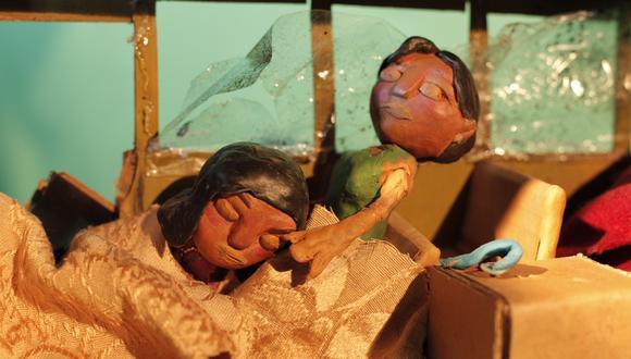 """""""Aprendiendo a cambiar"""" es un corto animado que utiliza la técnica de stop motion. Sus personajes han sido diseñados a base de cerámica en frío y plastilina. (Foto: Difusión)"""