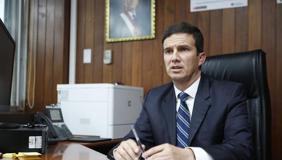 Luis Miguel Incháustegui, ministro de Energía y Minas. (Foto: GEC)