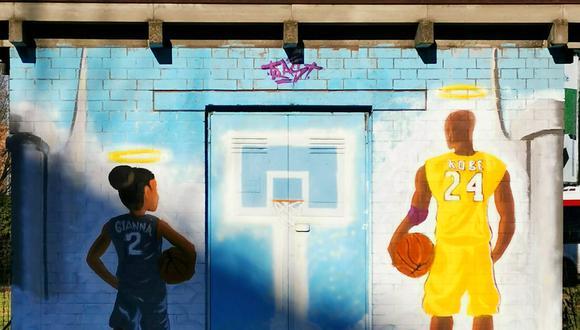 Kobe Bryant y su hija Gianna tendrán una plaza con sus nombres | Foto: @ComuneRE