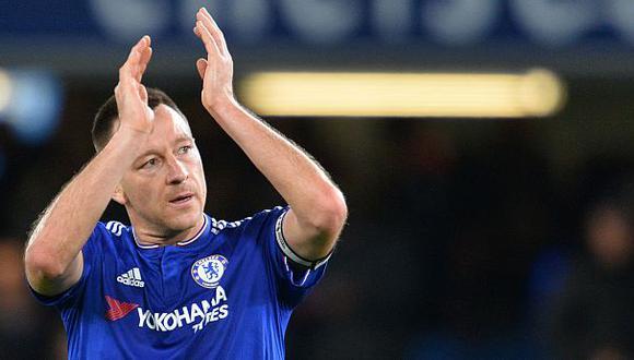 John Terry dejará el Chelsea al final de la temporada actual