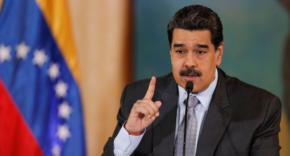 Nicolás Maduro ofreció una rueda de prensa donde habló sobre los migrantes venezolanos que viven en el Perú. (REUTERS/Manaure Quintero).