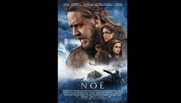 """""""Noé"""": mira el afiche final de la esperada película"""