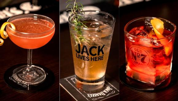 En la imagen aparece un cóctel, un Jack Ginger y un Boulevardier. (Foto: BTH)