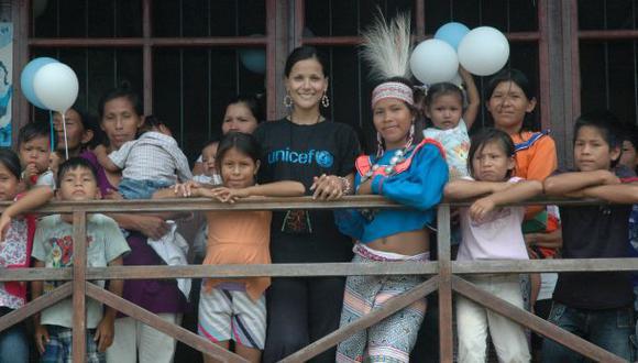 Unicef inicia campaña solidaria por niños de Chosica y Loreto
