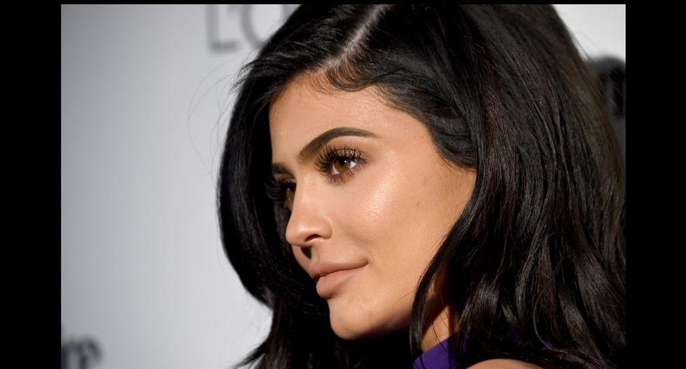 Kylie Jenner compartió un par de videos que causaron furor entre sus fans. (AFP)