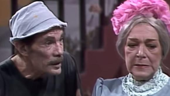 """Don Ramón y Doña Clotilde fue la pareja que no pudo concretarse en """"El Chavo del 8"""".  (Foto: Televisa)"""