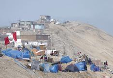 Chorrillos: así luce el Morro Solar tras la llegada de miles de invasores | FOTOS
