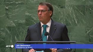 Bolsonaro dice en la ONU que está en contra el pasaporte sanitario