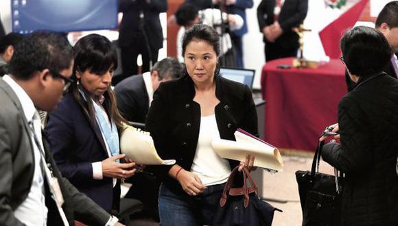 Keiko Fujimori recibió 15 meses de prisión preventiva en enero, pero tres meses después la decisión fue revocada por la Sala Penal de Apelaciones. (Foto: GEC)