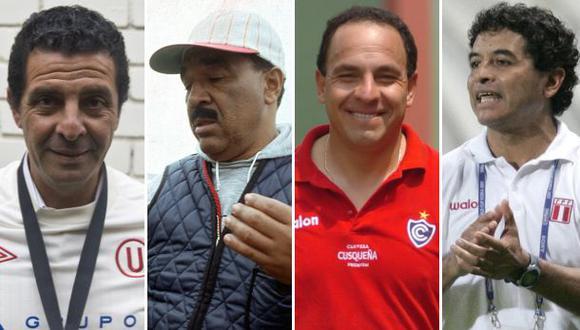 Los técnicos peruanos que dieron títulos al fútbol nacional