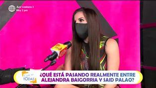 Alejandra Baigorria se defiende de duras críticas por ampay con Said Palao