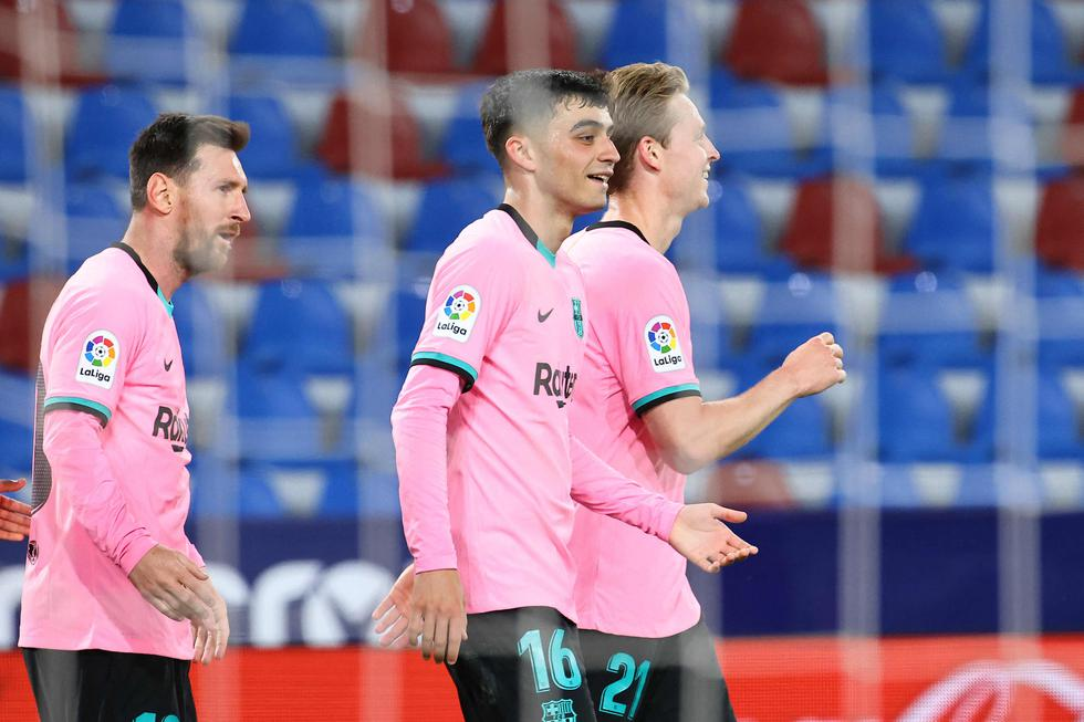 Barcelona vs. Levante: las mejores postales del duelo por LaLiga Santander