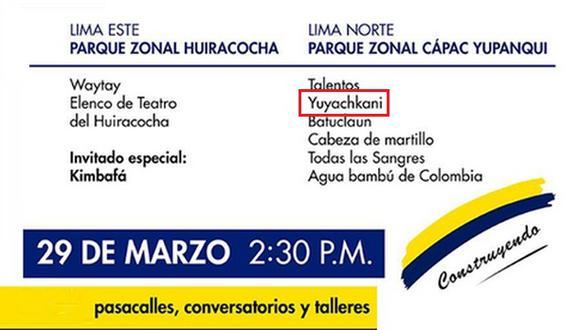 Facebook: Municipalidad de Lima es acusada de falsa publicidad
